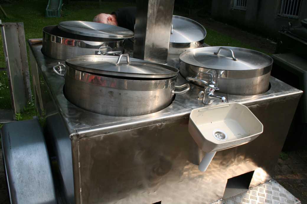 Handwaschbecken Feldküche